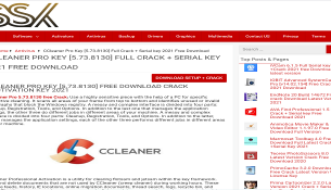 Ccleaner Crack SoftSerialsKey