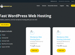 wordpress web hosting services